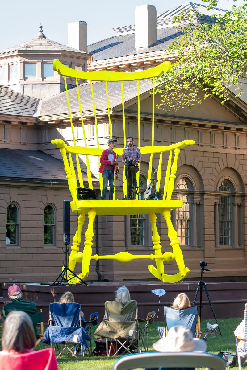 Then and Now: Tales From The Big Chair Opening