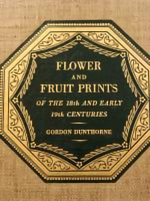 From the Vault: Flower and Fruit Prints, 1938