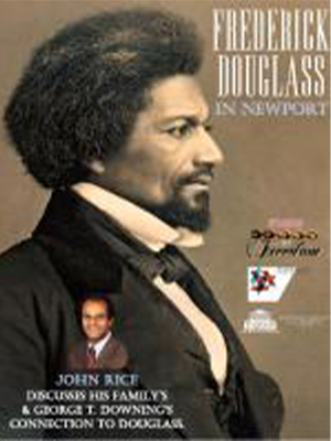 Frederick Douglass in Newport with Dr. John Rice